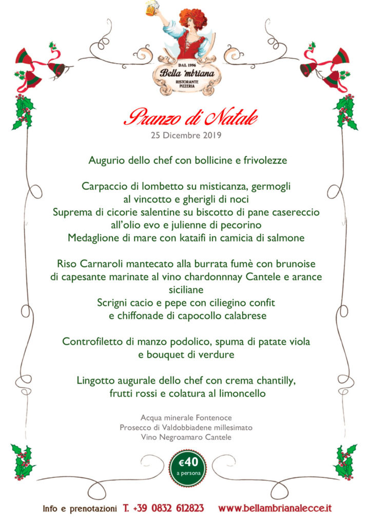 Pranzo di Natale_bellambriana lecce
